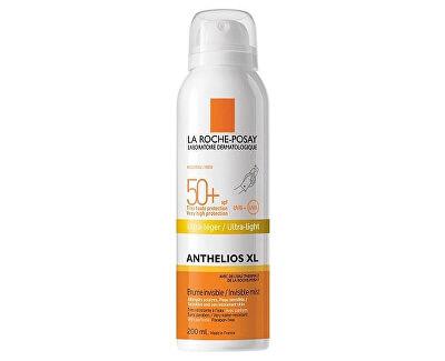 Osvěžující sprej na tělo s velmi vysokou ochranou SPF 50+ Anthelios XL (Ultra Light Invisible Mist) 200 ml