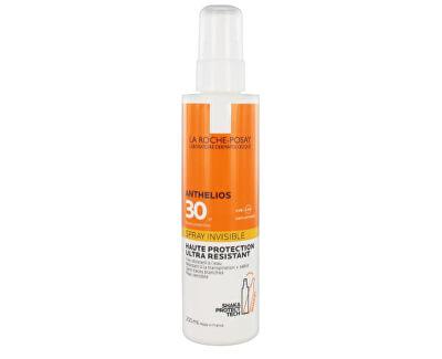 Sprej na opalování pro citlivou pokožku SPF 30 Anthelios (Invisible Spray Ultra Resistant) 200 ml