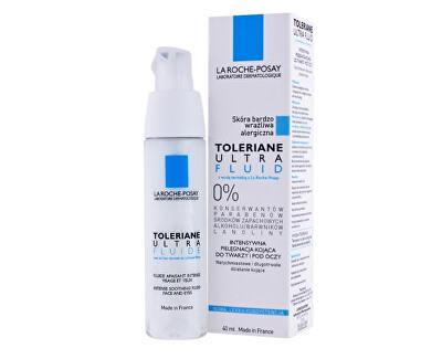 Zklidňující a ochranný fluid na obličej Toleriane (Ultra Fluid) 40 ml