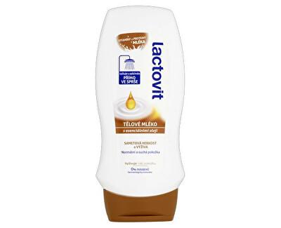 Tělové mléko do sprchy s esenciálními oleji (Body Milk In-Shower) 230 ml