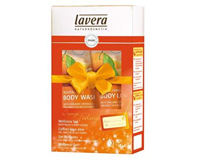 Lavera Dárkový wellness set Pomerančové zážitky