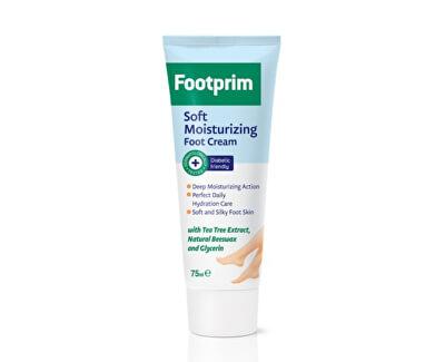 Lavena Hebký zvláčňující krém na nohy s výtažkem z čajovníku Footprim (Soft Moisturizing Foot Cream) 75 ml