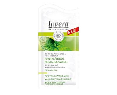 Lavera Hloubková čisticí maska Bio Máta, sůl z mrtvého moře & minerální jíl (Purifying Cleansing Mask)