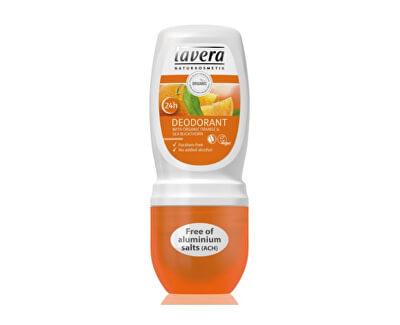 Lavera Jemný kuličkový deodorant BIO Pomeranč - BIO Rakytník (Deodorant) 50 ml