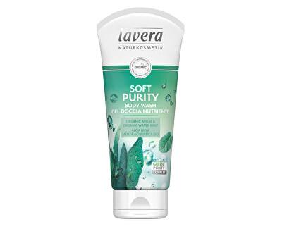 Sprchový a koupelový gel Soft Purity Bio řasa a Bio máta vodní (Body Wash Gel) 200 ml