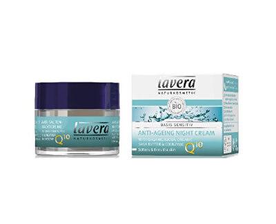 Lavera Noční pleťový krém s koenzymem Q10 (Anti-Ageing Night Cream) 50 ml