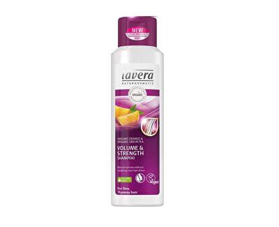 Lavera Objemový šampon pro jemné vlasy (Volume & Strenght Shampoo) 250 ml