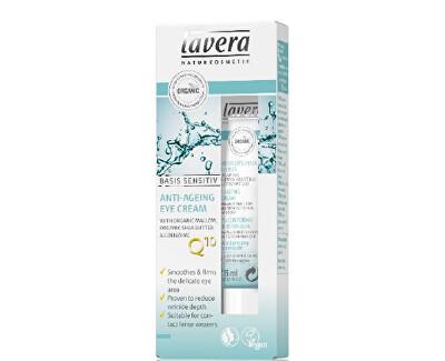 Lavera Oční krém s koenzymem Q10 (Anti-Ageing Eye Cream) 15 ml