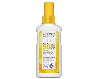 Spray pentru protecție solară pentru copii SPF 50 ( Sensitiv e Sun Lotion) 100 ml
