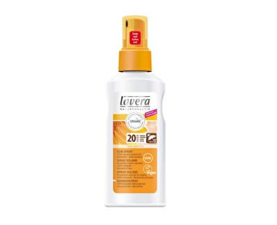 Lavera Opalovací mléko ve spreji SPF 20 (Sun Spray) 125 ml