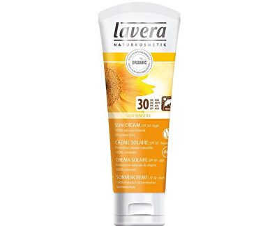 Lavera Soft opalovací krém SPF 30 Sun Sensitive (Sun Cream) 75 ml