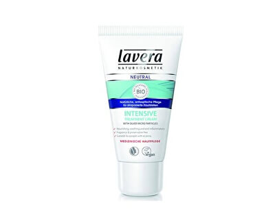 Lavera SOS krém s mikrostříbrem Neutral (Intensive Treatment Cream) 50 ml
