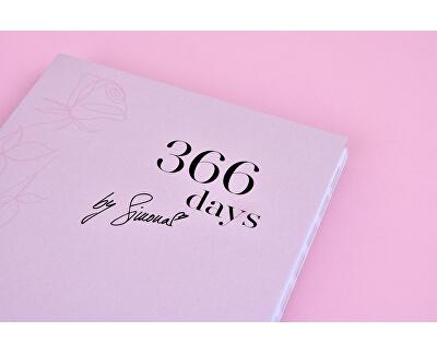 Diář Simony Krainové 366 Days by Simona - SLEVA - bez celofánu
