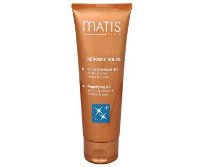 Matis Paris Osvěžující tělový gel s mikrotřpytkami Magnifying Gel (Glittering Radiance for Face & Body) 125 ml