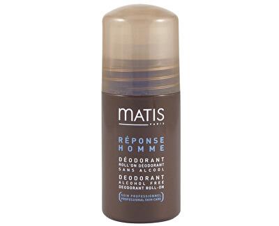 Matis Paris Roll-on deodorant bez alkoholu pro muže Réponse Homme (Alcohol Free Deodorant Roll-On) 50 ml