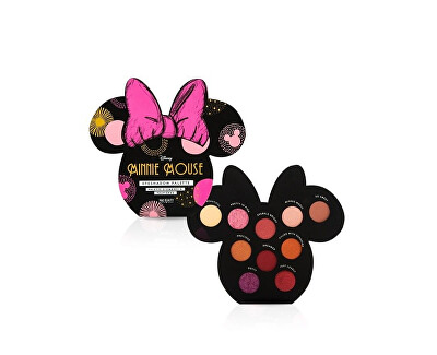 Paletka očních stínů Disney Minnie Mouse (Eyeshadow Pallete) 10 x 1,3 g