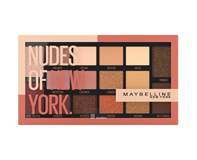 Paletka 16 očních stínů Nudes of New York 18 g