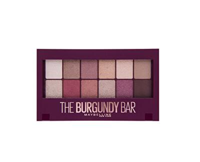Paletka očných tieňov Burgundy (Bar Eyeshadow Palette) 9,6 g