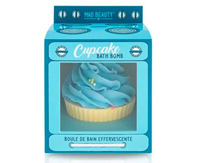 Bombă pentru baie efervescentă  Cupcake Blue (Bath Bomb) 165 g