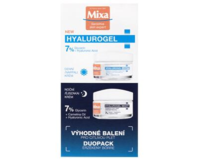 Kosmetická sada pleťové péče Hyalurogel Duopack 2 x 50 ml
