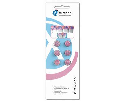 Miradent Patentovaná dvoubarevná reakce na plak Mira-2-Ton 6 tablet
