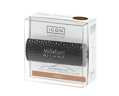 Vůně do auta Icon Metallo Nero 47 g