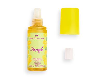 Spray de fixare pentru make-up I♥Revolution Pineapple (Brightening Makeup Fixing Spray) 100 ml