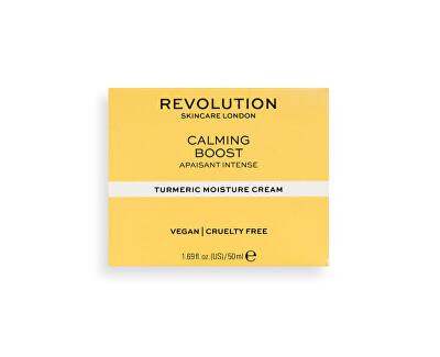 Cremă hidratantă Revolution Skincare (Calming Boost with Turmeric) 50 ml
