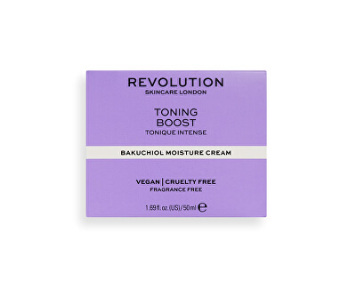 Hydratační krém Revolution Skincare (Toning Boost with Bakuchiol) 50 ml