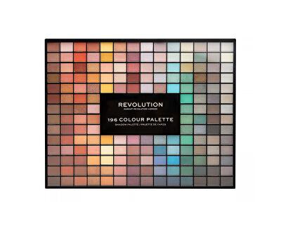Paletka 196 očních stínů (Eye Shadow Palette) 156 g