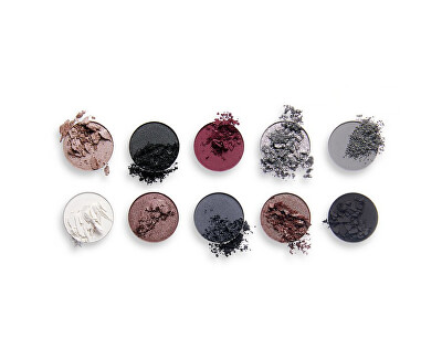 Paletka očních stínů Black Is The New Black Obsession (Eye Shadow Palette) 13 g