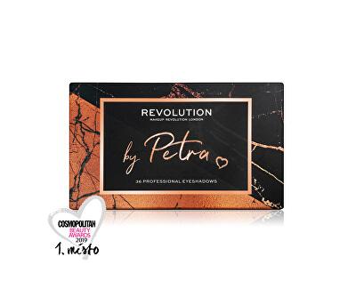 Paletka očních stínů by Petra (Eyeshadow Palette) 36 x 0,8 g
