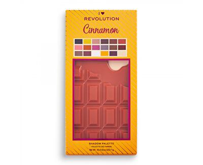 Paletka očních stínů Cinnamon Chocolate (Eye Shadow Palette) 18 g