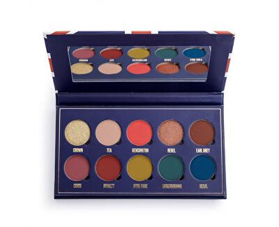 Paletka očních stínů London´s Calling Obsession (Eye Shadow Palette) 13 g