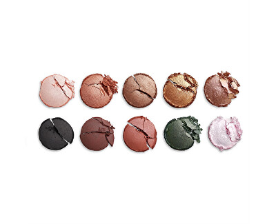 Paletka očních stínů PRO Earth & Stone (Colour Focus Palette) 15 g