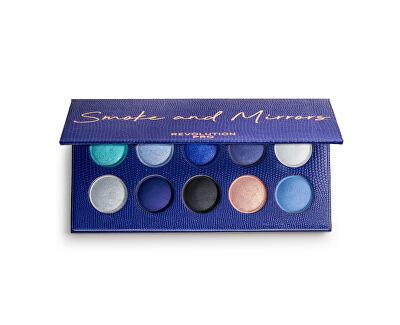 Paletka očních stínů Smoke and Mirrors (Colour Focus Shadow Palette) 10 x 1,5 g