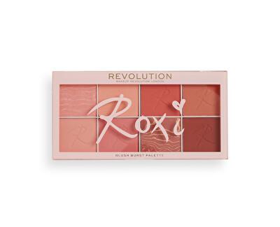Arcpirosító paletta Revolution (X Roxxsaurus Blush Burst Palette) 16 g