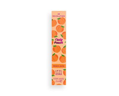 Îngrijire pentru buze I♥Revolution Tasty Peach (Lip Oil Peach Juice) 6 ml