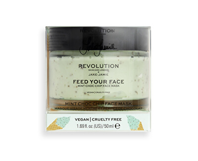 Mască pentru TenRevolution Skincare X Jake-Jamie Feed Your Face (Mint Choc Chip Face Mask) 50 ml
