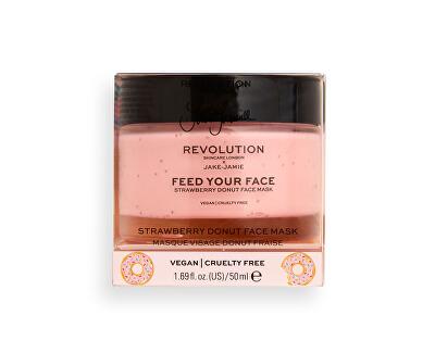 Pleťová maska Revolution Skincare X Jake-Jamie Feed Your Face (Strawberry Donut Face Mask) 50 ml