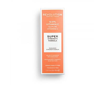 Pleťové sérum proti vráskám 12,5 % Vitamin C Scincare (Radiance Strength Serum) 30 ml