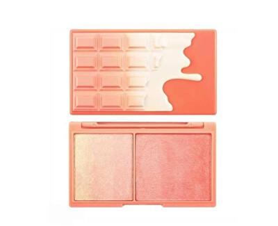 Rozjasňující paletka na tvář Peach and Glow 11,2 g