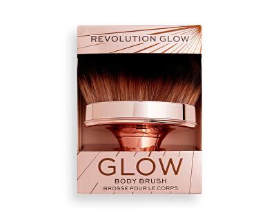 Štětec na tělo Revolution Glow (Shimmer Oil Buffing) 1 ks