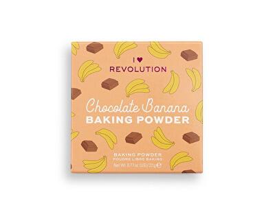 Sypký pudr Chocolate Banana (Loose Baking Powder) 22 g