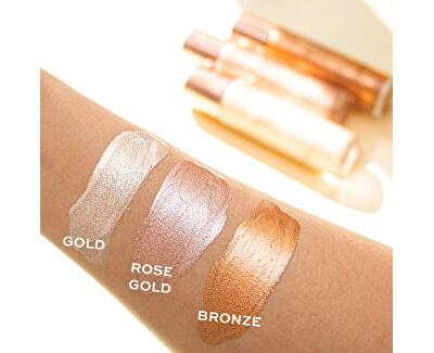 Tekutý rozjasňovač Revolution Glow (Molten Body Rose Gold) 100 ml