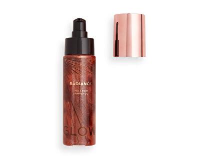 Iluminator lichid Revolution Glow (Radiance Face & Body Shimmer Oil Bronze) 100 ml