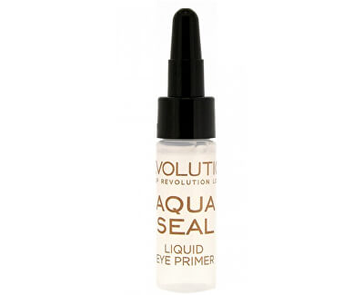 Makeup Revolution Fixátor očních stínů a podkladová báze pod oční stíny v jednom (Aqua seal Liquid Eye Primer)