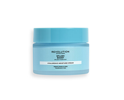 Hydratační krém Revolution Skincare (Splash Boost with Hyaluronic Acid) 50 ml