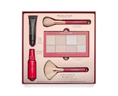 Kosmetická sada Highlight & Glow Kit
