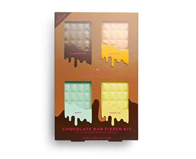 Koupelová bomba Chocolate Bar (Fizzer Kit) 440 g